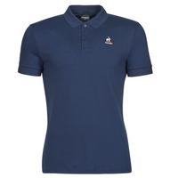 tekstylia Męskie Koszulki polo z krótkim rękawem Le Coq Sportif ESS POLO SS N 1 M Marine