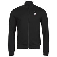 tekstylia Męskie Bluzy dresowe Le Coq Sportif ESS FZ SWEAT N 3 M Czarny