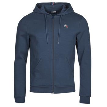 tekstylia Męskie Bluzy dresowe Le Coq Sportif ESS FZ HOODY N 3 M Marine