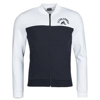 tekstylia Męskie Bluzy dresowe Le Coq Sportif SAISON 2 FZ SWEAT N 1 Marine / Biały