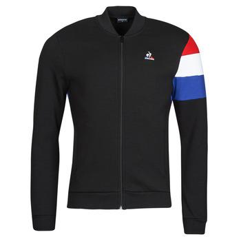 tekstylia Męskie Bluzy dresowe Le Coq Sportif TRI FZ SWEAT N 1 M Czarny