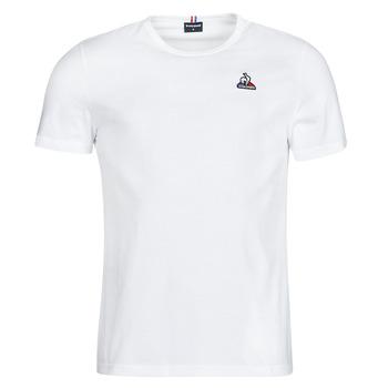tekstylia Męskie T-shirty z krótkim rękawem Le Coq Sportif ESS TEE SS N 3 M Biały