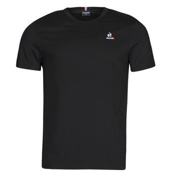 tekstylia Męskie T-shirty z krótkim rękawem Le Coq Sportif ESS TEE SS N 3 M Czarny