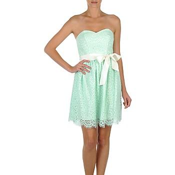 tekstylia Damskie Sukienki krótkie Morgan RORT Zielony