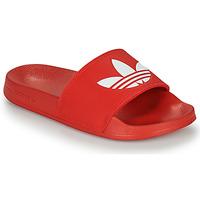 Buty klapki adidas Originals ADILETTE LITE Czerwony
