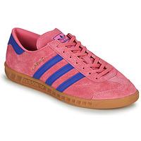 Buty Trampki niskie adidas Originals HAMBURG Różowy / Niebieski