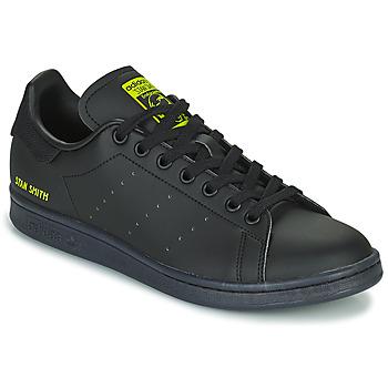Buty Trampki niskie adidas Originals STAN SMITH Czarny / Żółty