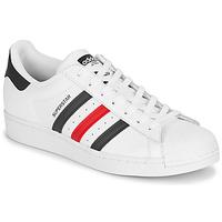 Buty Trampki niskie adidas Originals SUPERSTAR Biały / Niebieski / Czerwony