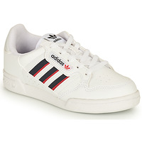 Buty Dziecko Trampki niskie adidas Originals CONTINENTAL 80 STRI C Biały / Niebieski