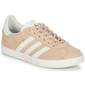 Buty Dziewczynka Trampki niskie adidas Originals GAZELLE J Różowy
