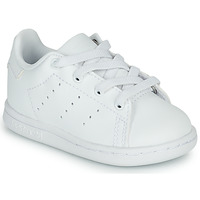 Buty Dziecko Trampki niskie adidas Originals STAN SMITH EL I Biały