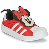 Buty Dziewczynka Trampki niskie adidas Originals SUPERSTAR 360 C Czerwony / Minnie
