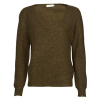 tekstylia Damskie Swetry See U Soon 21203009 Khaki