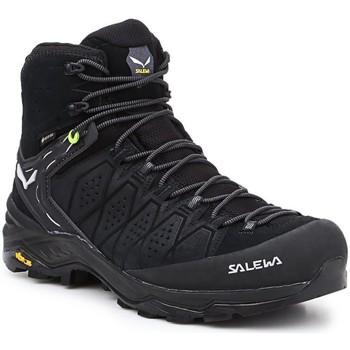 Buty Męskie Trekking Salewa Buty hikingowe  MS Alp Trainer 2 Mid GTX 61382-0971 czarny