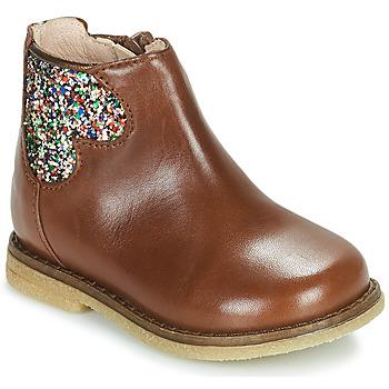 Buty Dziewczynka Buty za kostkę Acebo's 3202-CUERO-C Brązowy