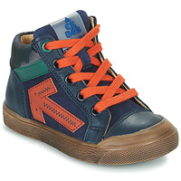 Buty Chłopiec Trampki wysokie Acebo's 5567-MARINO-J Marine