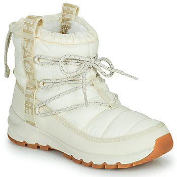 Buty Damskie Śniegowce The North Face W THERMOBALL LACE UP Ecru