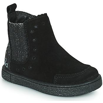 Buty Dziewczynka Buty za kostkę Mod'8 BLANOU Czarny / Glitter