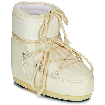 Buty Damskie Śniegowce Moon Boot MOON BOOT ICON LOW 2 Creme