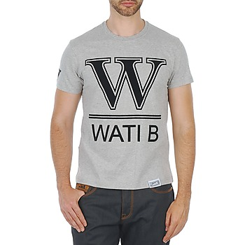 tekstylia Męskie T-shirty z krótkim rękawem Wati B TEE Szary