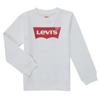 tekstylia Chłopiec Bluzy Levi's BATWING CREWNECK SWEATSHIRT Biały