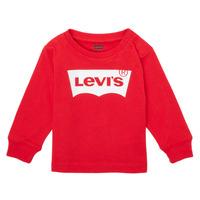 tekstylia Chłopiec T-shirty z długim rękawem Levi's L/S BATWING TEE Czerwony