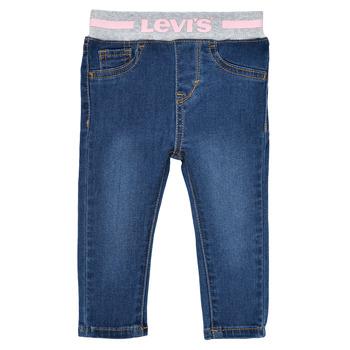 tekstylia Dziewczynka Jeansy skinny Levi's PULL ON SKINNY JEAN Westthird / Pink