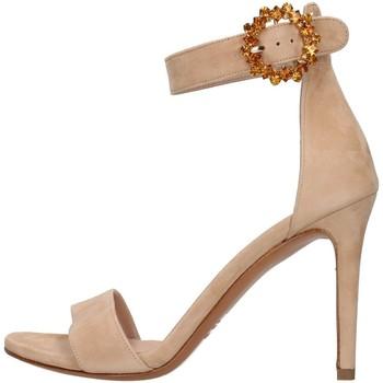 Buty Damskie Sandały Albano 4166 Beżowy
