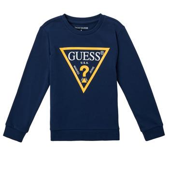 tekstylia Chłopiec Bluzy Guess CANISE Czarny