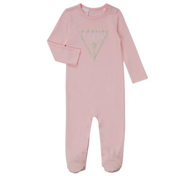 tekstylia Dziewczynka Piżama / koszula nocna Guess TIFENE Różowy