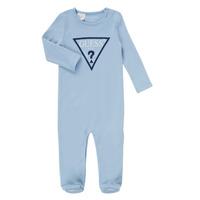 tekstylia Chłopiec Piżama / koszula nocna Guess THEROI Niebieski