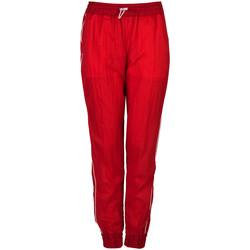 tekstylia Damskie Spodnie dresowe Patrizia Pepe  Czerwony