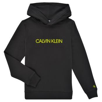 tekstylia Dziecko Bluzy Calvin Klein Jeans ZOPLINA Czarny