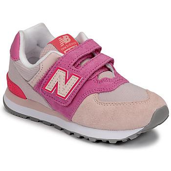 Buty Dziewczynka Trampki niskie New Balance 574 Różowy / Fioletowy