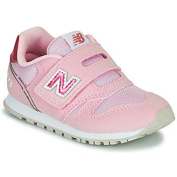 Buty Dziewczynka Trampki niskie New Balance 373 Różowy