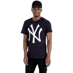tekstylia Męskie T-shirty z krótkim rękawem New-Era MLB New York Yankees Niebieski