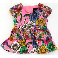 tekstylia Dziewczynka Sukienki krótkie John Richmond RIP21030VE Różowy