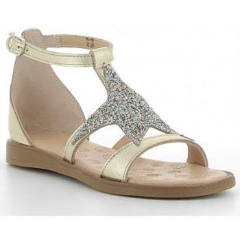 Buty Dziewczynka Sandały Acebo's 9895-GE Doré