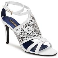 Buty Damskie Sandały Roberto Cavalli TPS016 Biały