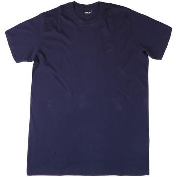 tekstylia Męskie T-shirty i Koszulki polo Key Up 2M915 0001 Niebieski