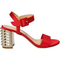 Buty Damskie Sandały Grace Shoes 1490 Czerwony