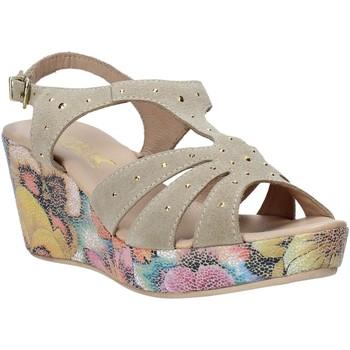 Buty Damskie Sandały Melluso H037040 Beżowy