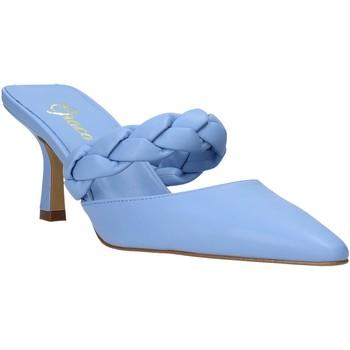 Buty Damskie Sandały Grace Shoes 396002 Niebieski