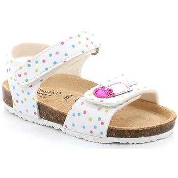 Buty Dziewczynka Sandały Grunland SB1719 Biały
