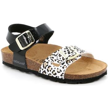 Buty Dziewczynka Sandały Grunland SB1525 Czarny