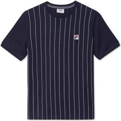 tekstylia Dziecko T-shirty z krótkim rękawem Fila 688809 Niebieski