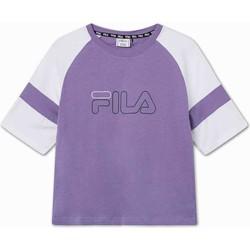 tekstylia Dziecko T-shirty z krótkim rękawem Fila 683330 Fioletowy