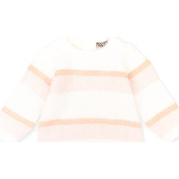tekstylia Dziecko Swetry Losan 028-5001AL Różowy
