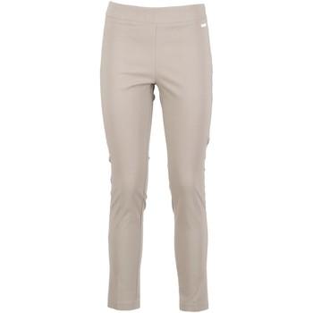 tekstylia Damskie Spodnie Café Noir JP6230 Beżowy