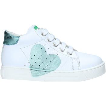 Buty Dziewczynka Trampki wysokie Falcotto 2012816 07 Biały
